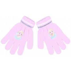 Różowe rękawiczki Elsa Kraina Lodu