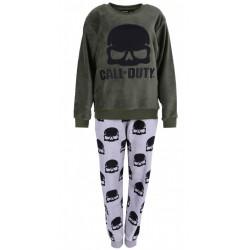 Polarowa, szaro-zielona piżama CALL OF DUTY