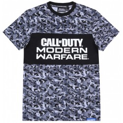 Szaro-czarna koszulka, t-shirt CALL OF DUTY