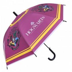 Burgundowa parasolka Harry Potter