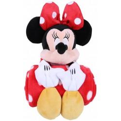 Pluszowa Myszka Minnie + koc 120x 125 cm DISNEY