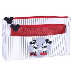 2xBiało- brokatowa kosmetyczka Mickey Disney