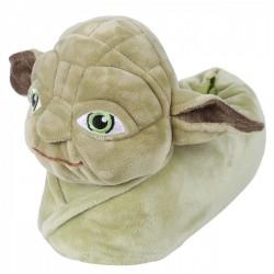 Zielone ciepłe papcie Mistrz Yoda STAR WARS Disney