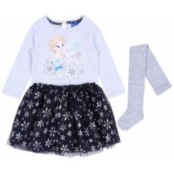 Bluzka,spódniczka tiulowa+rajstopy Frozen Disney