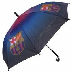 Czarno-bordowa parasolka FC BARCELONA