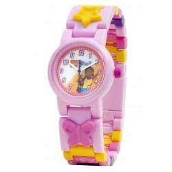 Różowy dziewczęcy zegarek na ręke ANDREA Friends LEGO