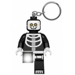 Brelok do kluczy z latarką Kościotrup LEGO