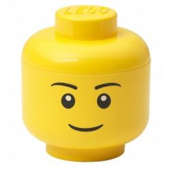 Pojemnik duża głowa Chłopiec LEGO