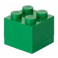 Zielone minipudełko klocek 4 LEGO