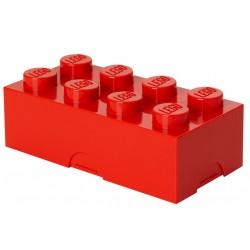 Czerwony lunchbox klocek LEGO