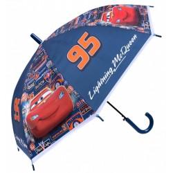 Granatowa parasolka w auta Zygzak McQueen Disney