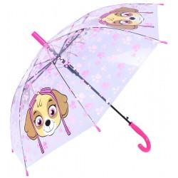Transparentna, dziewczęca parasolka SKYE Psi Patrol