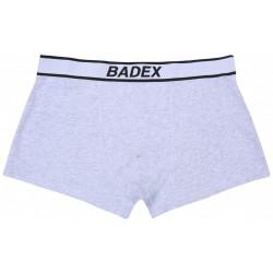 Graue Männer-Boxershorts  BADEX