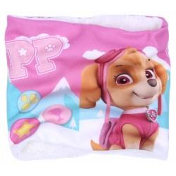 Różowy, ocieplany komin Skye Psi Patrol Nickelodeon