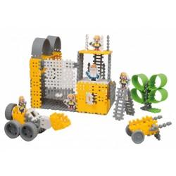 Zestaw klocków konstrukcyjnych Mini Waffle- budowniczy MARIOINEX