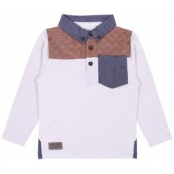 Beżowa koszulka Polo PRIMARK REBEL