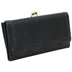 Czarny ażurowy portfel PRIMARK ATMOSPHERE