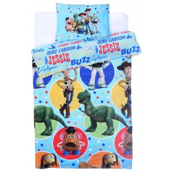 Colourful Duvet Cover Toy Story 135x200