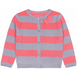 Koralowo-srebrny sweterek YD PRIMARK