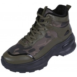 Camo Ankle Trappers/Sneakers VICES