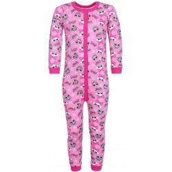 Różowa dziewczęca piżama jednoczęściowa L.O.L.Suprise!