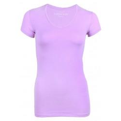 Fioletowy t-shirt PRIMARK ATMOSPHERE