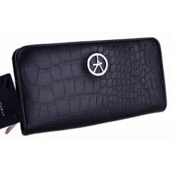Czarny portfel, wężowa skóra PRIMARK ATMOSPHERE