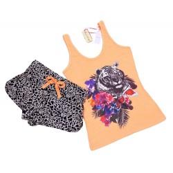 Pomarańczowa piżama - tygrys PRIMARK ATMOSPHERE