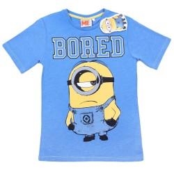 Niebieski t-shirt MINIONKI PRIMARK REBEL