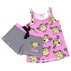 Różowa piżama w paski Little Miss PRIMARK ATMOSPHERE