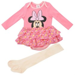Sukienka + Rajstopy Myszka Minnie Disney