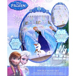 Anna and Elsa Duvet Cover & Two Pillowcases Set 200x200 DISNEY FROZEN