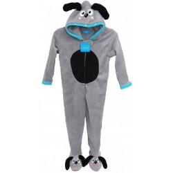 Cosy Grey Onesie -Dog