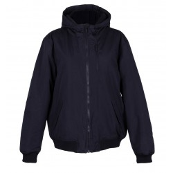 Black Insulated Jacket/ Rain Coat