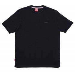 Czarna koszulka Slazenger
