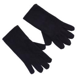 Black, warm gloves