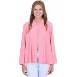 ASOS Elegancka, różowa narzutka z guzikiem