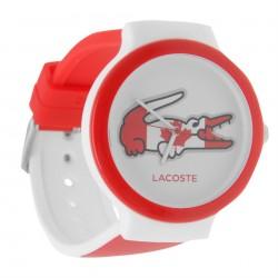 Zegarek Lacoste GOA czerwono-biały