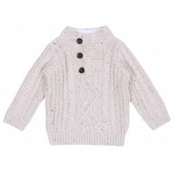 Beige winter sweater