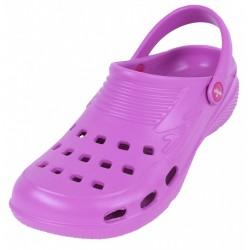 Violet, Super Lightweight Rubber Classic Crocs Clog Shoes For Ladies LEMIGO