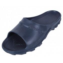 BARI LEMIGO Navy Blue Flip Flops