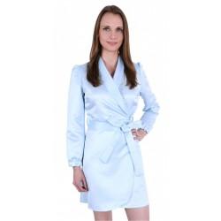 ASOS Błękitna narzutka sukienka