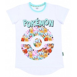 Multicolour POKEMON Top, T-shirt For Ladies GOTTA CATCH 'EM ALL