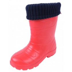 ASPEN LEMIGO Red Navy Blue Wellies