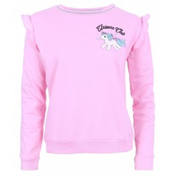 Pink, Long Sleeved Top, Sweatshirt For Ladies UNICORN CLUB MY LITTLE PONY