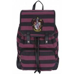 Burgundy/Black Backpack, Knapsack, Rucksack Gryffindor Crest Design HARRY POTTER