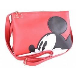 7478001 czerwona torebka myszka mickey