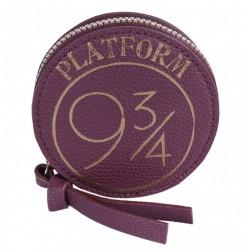 7124403 Bordowy, okrągły portfel Harry Potter