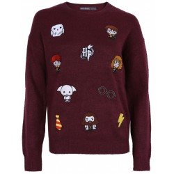 Burgubdowy sweter HARRY POTTER