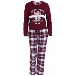 Bordowa piżama Gryffindor HARRY POTTER
